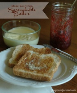 Make Your Own Spreadable Butter