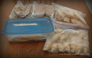 29 Days Of Frugal Living: Day 28 – Freezer Cooking