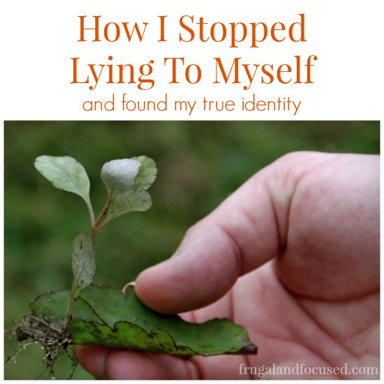 How I Stopped Lying To Myself sq