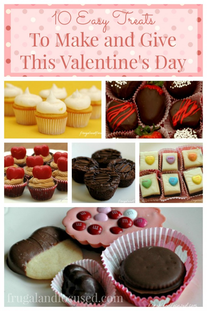 10 Easy Treats to Make and Give This Valentine's Day
