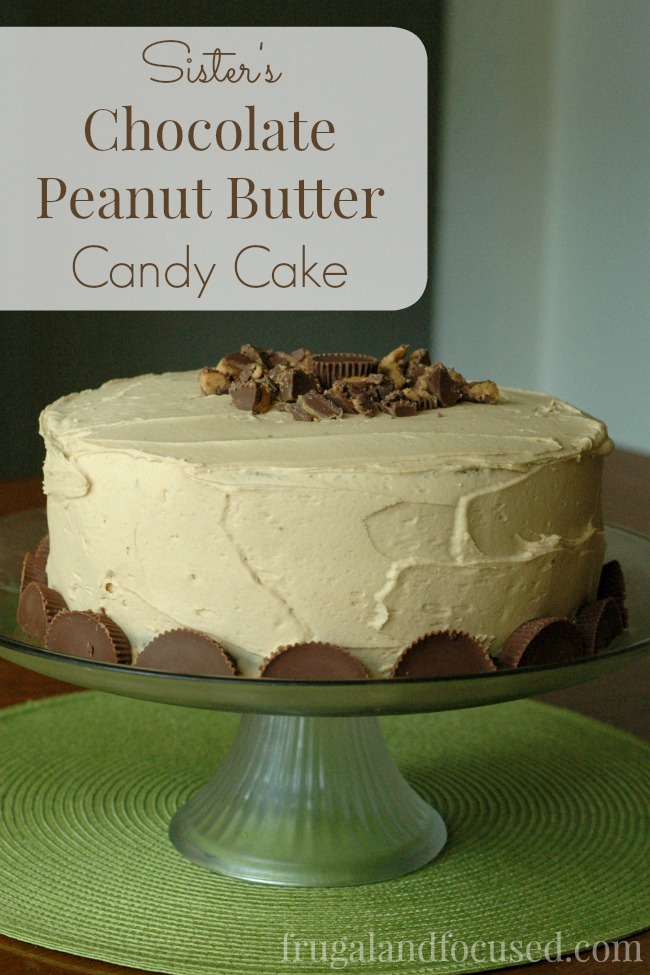 A delicious blend of chocolate and peanut butter in that is sure to satisfy your sweet tooth.