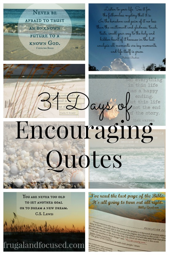 31 Days of Encouraging Quotes