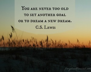 31 Days of Encouraging Quotes – Never Too Old
