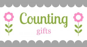 counting gifts header