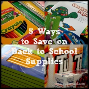 5 Ways To Save On Back-To-School Supplies