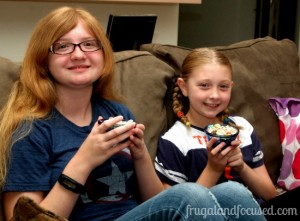 A Frugal Family Movie Night with Big G Cereal Movies