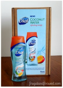 Review & Giveaway: Dial Coconut Water Refreshing Mango Body Wash {3 Winners}