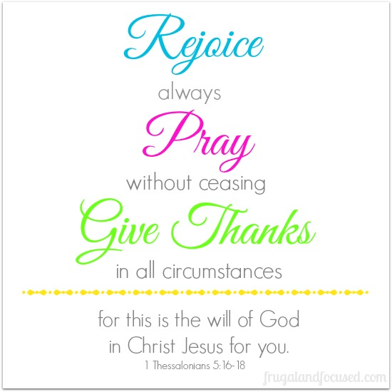 I thessalonians 5 16 18 bing images for Pray without ceasing coloring page