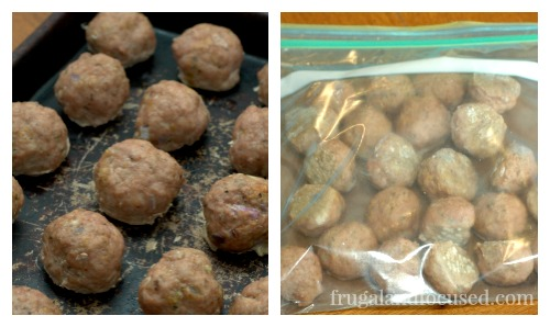 Freezer Friendly Turkey Meatballs - Great  to keep on hand for quick and easy dinners.