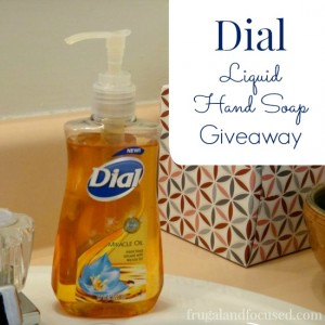 Review & Giveaway: Dial Miracle Oil Hand Soap