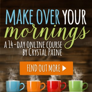 It's Time To Make Over My Mornings – And You Can Too!