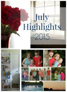 My July Highlights – 2015