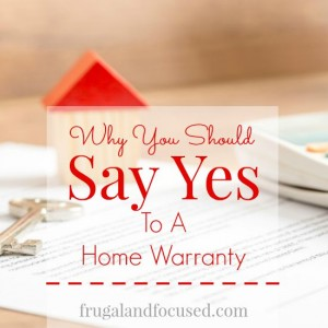 Why You Should Say Yes To A Home Warranty