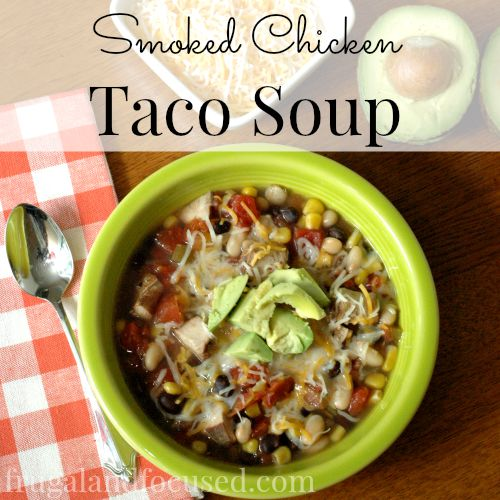 Smoked Chicken Taco Soup sq