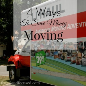 4 Ways To Save Money Moving