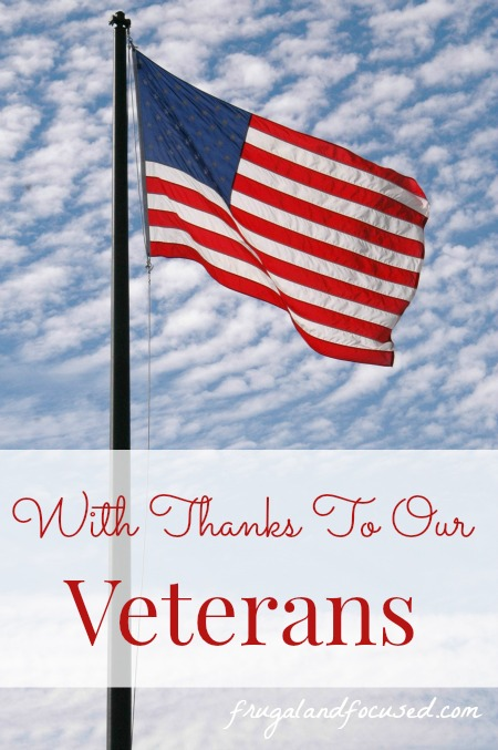 with thanks to our veterans   a list of discounts and