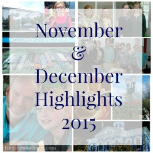 November and December Highlights 2015