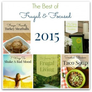 The Best Of Frugal & Focused 2015
