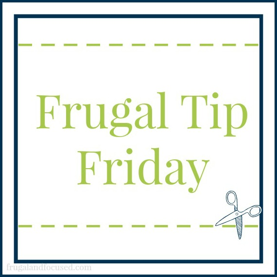 Simple tips for frugal living.