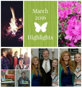 March 2016 Highlights