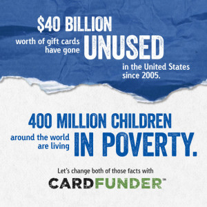 Make A Difference With Your Unused Gift Cards