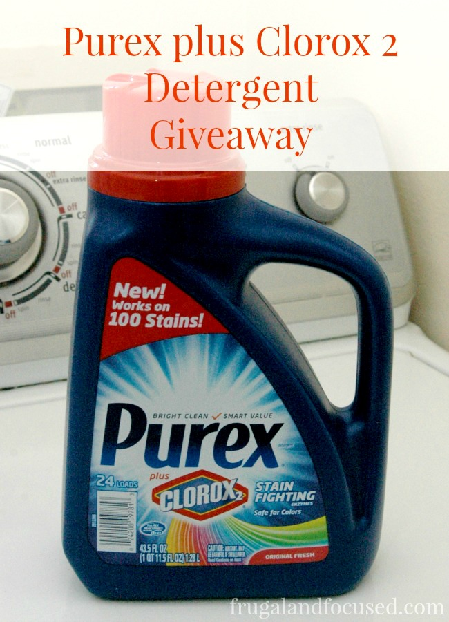 Purex Plus Clorox 2 Header