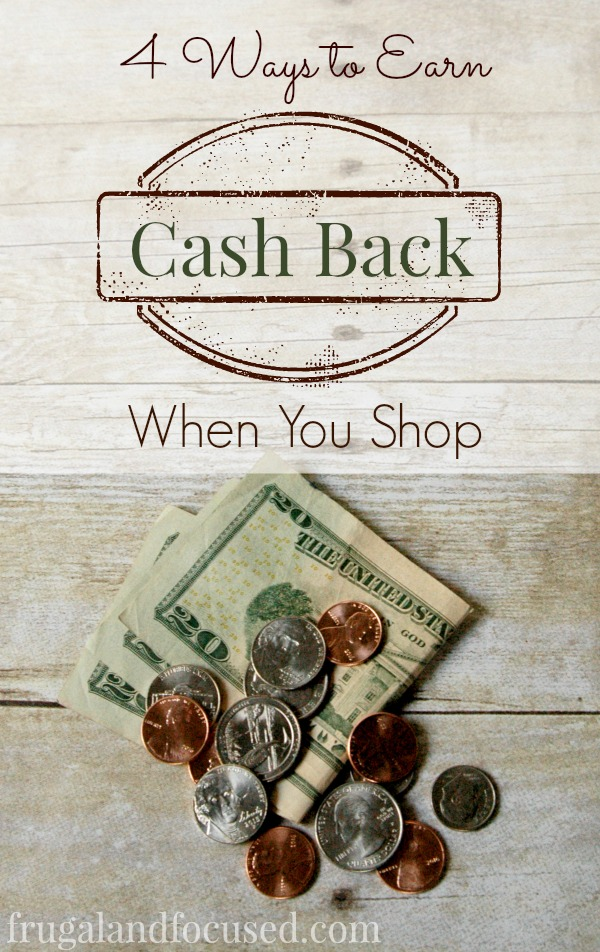 Cash Back When You Shop