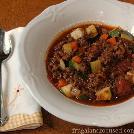 31 Days of Healthy Dinner Ideas: Paleo Chili
