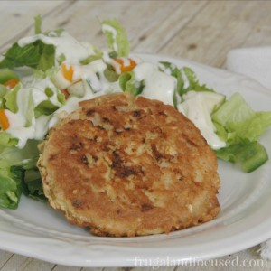 Healthy Dinner Idea: Salmon Patties