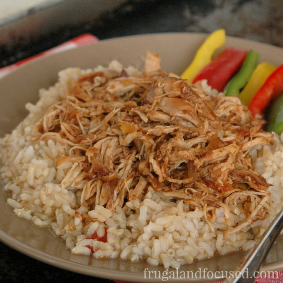 31 Days of Healthy Dinner Ideas: Crock Pot Balsamic Chicken
