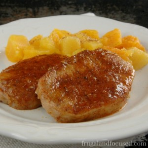 Healthy Dinner Idea: Maple Glazed Pork Chops (Real Food)