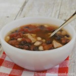 Healthy Dinner Idea: Spicy Bean Soup (THM, Real Food)